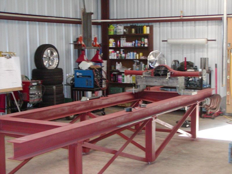 Chassis jig welding pinterest metals restoration for Garage auto fab ennery