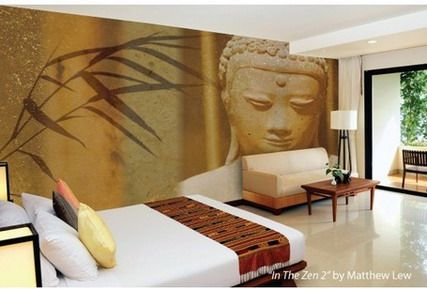 Elegant Abstract Tree Wall Murals Stickers for Master Bedroom ...