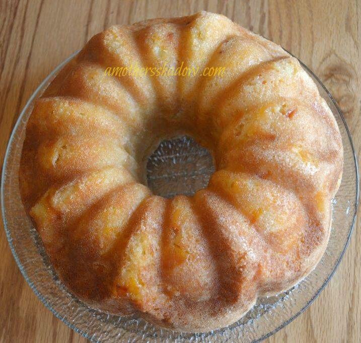 Frozen Peaches Boxed Cake Mix Cake
