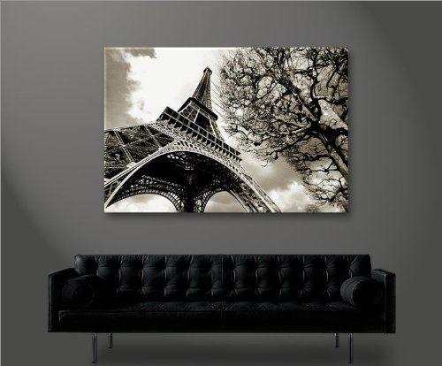 Amazon Es Eiffel Torre Parigi 100x65 Cuadro En Lienzo