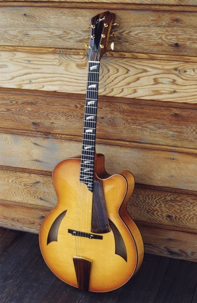 Cheval Guitars James Art