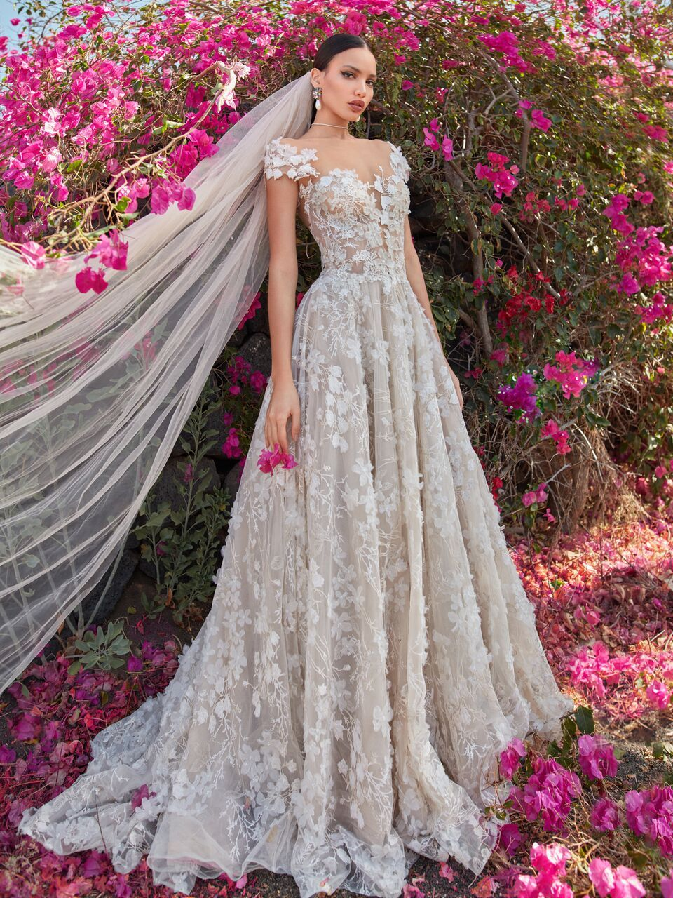 Romantic Galia Lahav Wedding Dresses Fall 2018 Collection Florence ...