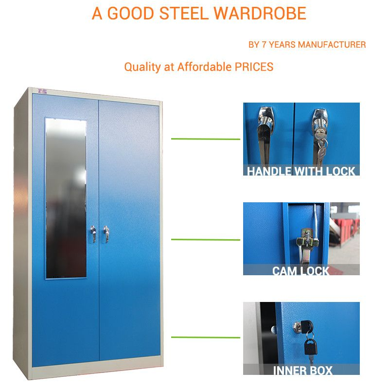 Check out this product on Alibaba.com App: Clothes Steel Cupboard Designs