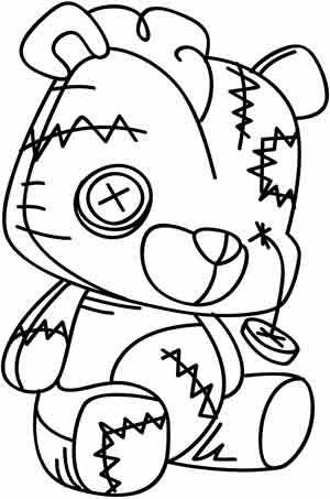 Tattered Teddy Design UTH3843 From UrbanThreads 618w X 937h