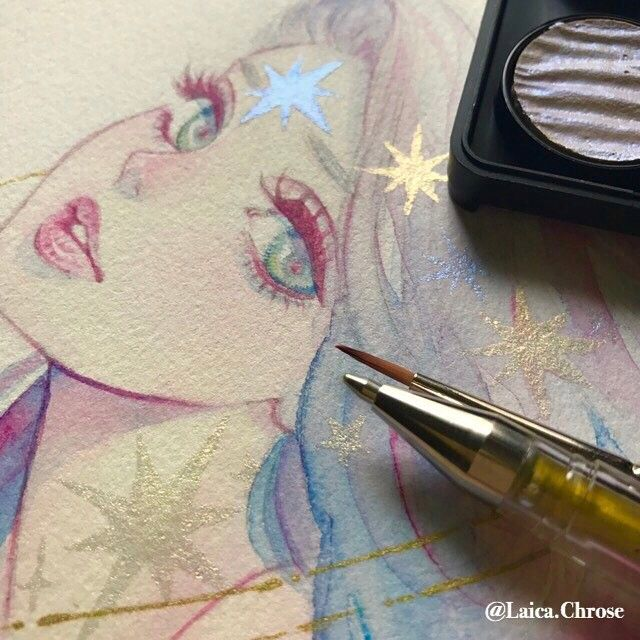 Blush Draw Sketch Prisma Colorpencil Drawing Blusher