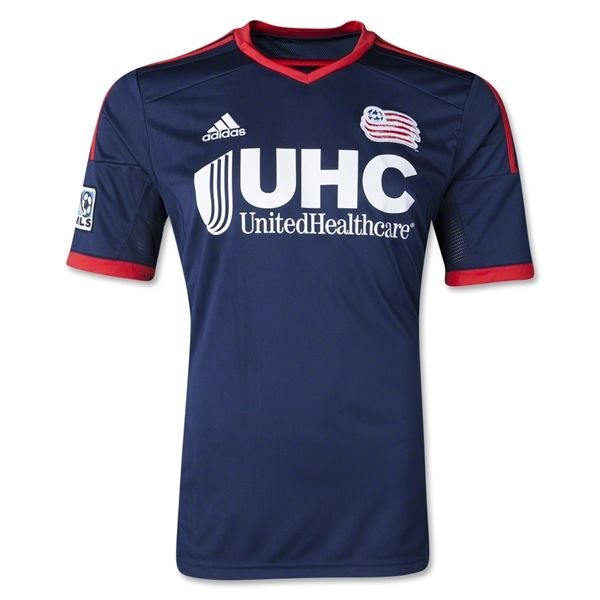 New England Revolution 2014 Primary Soccer Jersey  4407a1cf02328