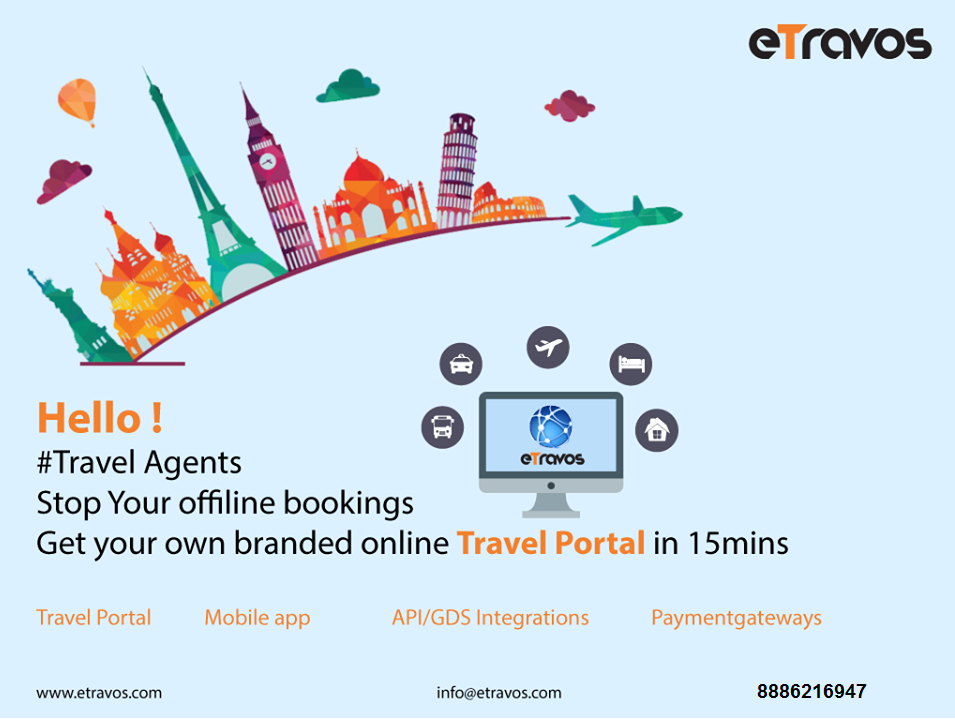 Hello ! Travel Agents, Stop Your offline bookings Get