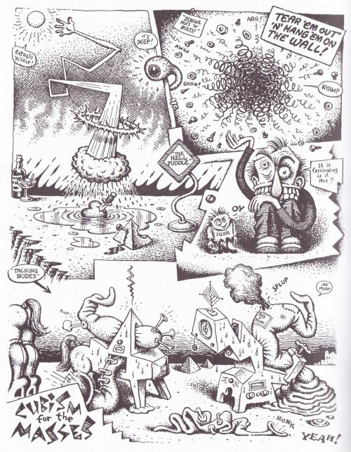 cubism explained for the masses by r crumb