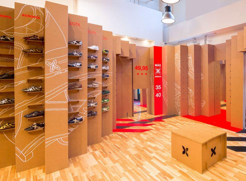 Pop up store en cart n tiendas instant neas de gran impacto con cart n product design - Studio barcelona muebles ...