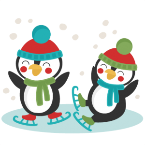 penguins ice skating svg scrapbook cut file cute clipart files for rh pinterest com Soda Clip Art Bike Clip Art