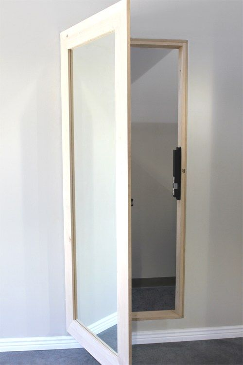 Mirror Door To Utility Hidden Rooms Mirror Door Hidden Doors