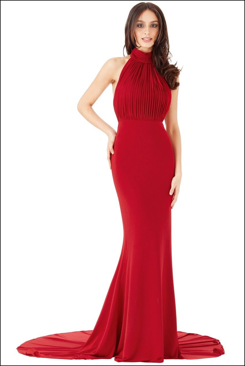 Red Fishtail Gown Dresses and Gowns Ideas Pinterest Fishtail