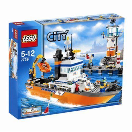 number 1 lego 7739 jeu de construction lego city le bateau et - Lego City Bateau
