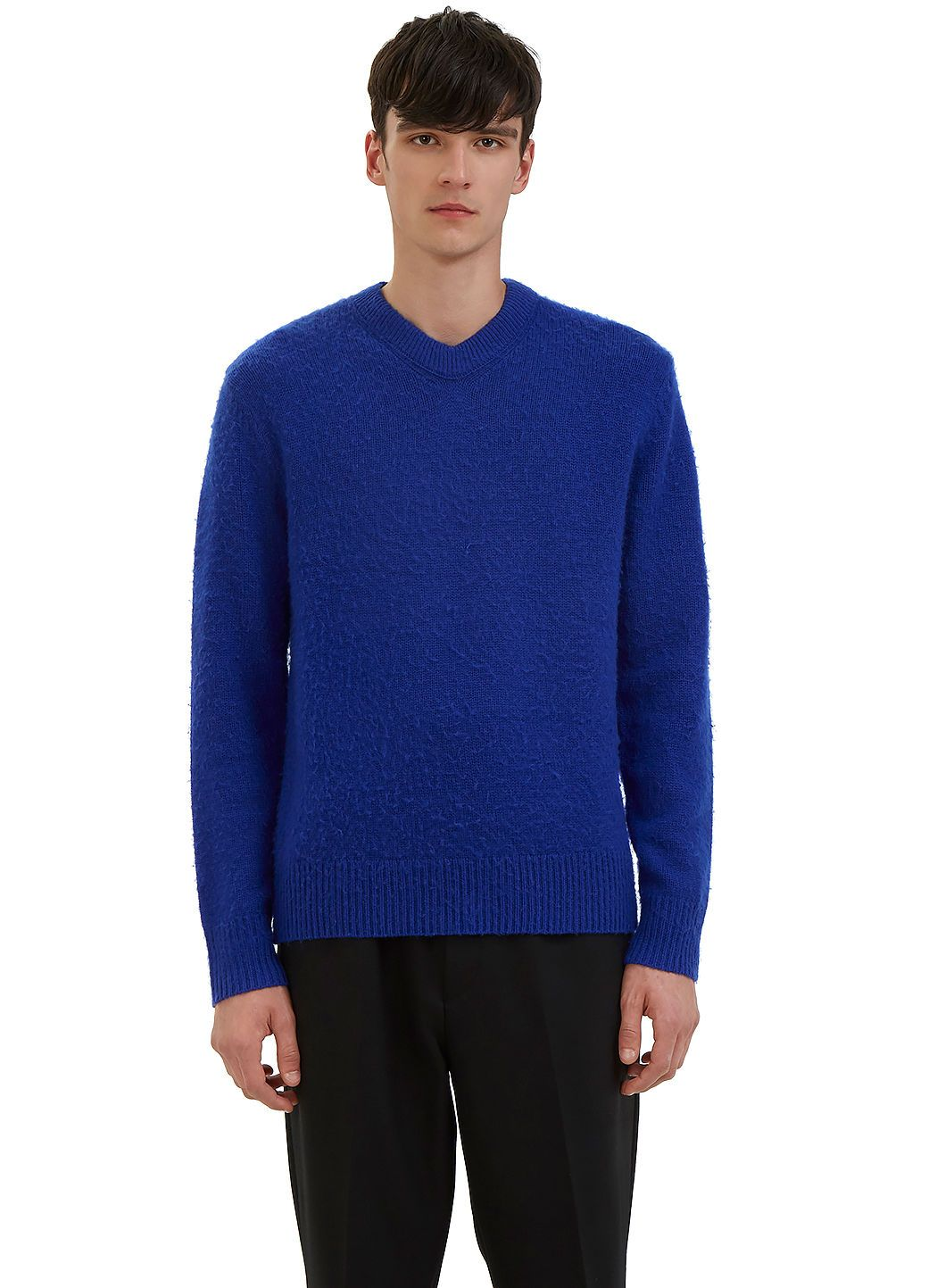 ACNE STUDIOS Men S Peele Cashmere Knit Sweater In Blue.  acnestudios  cloth    9fdd91e863f