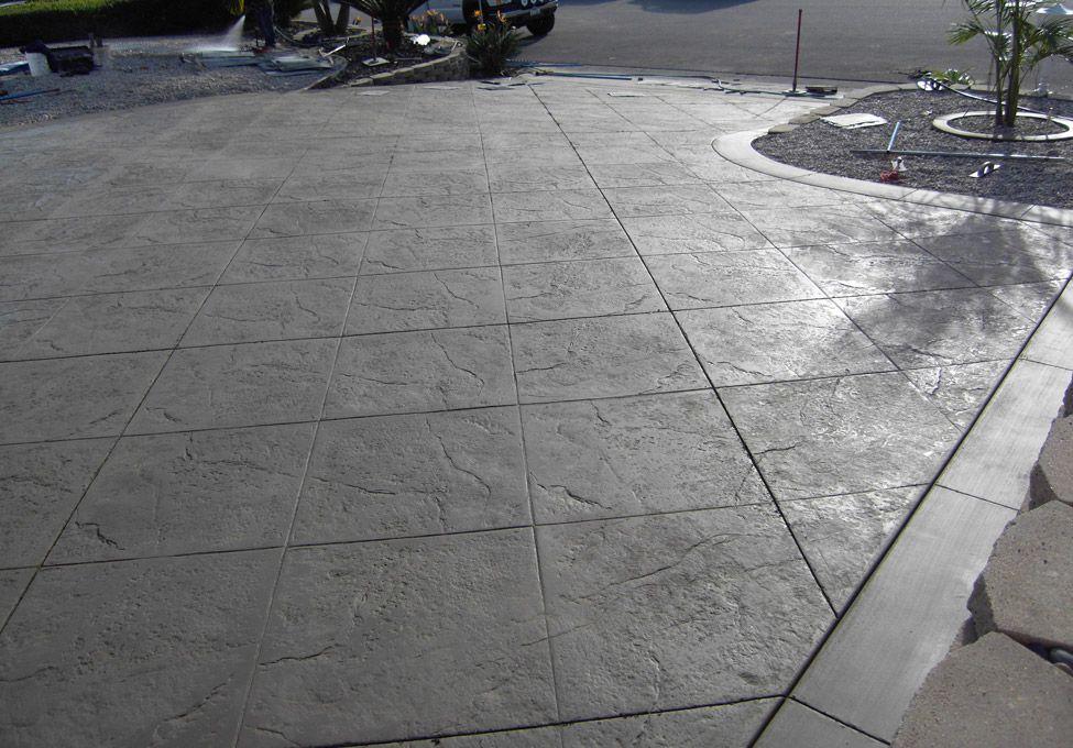 concrete driveways concrete patio