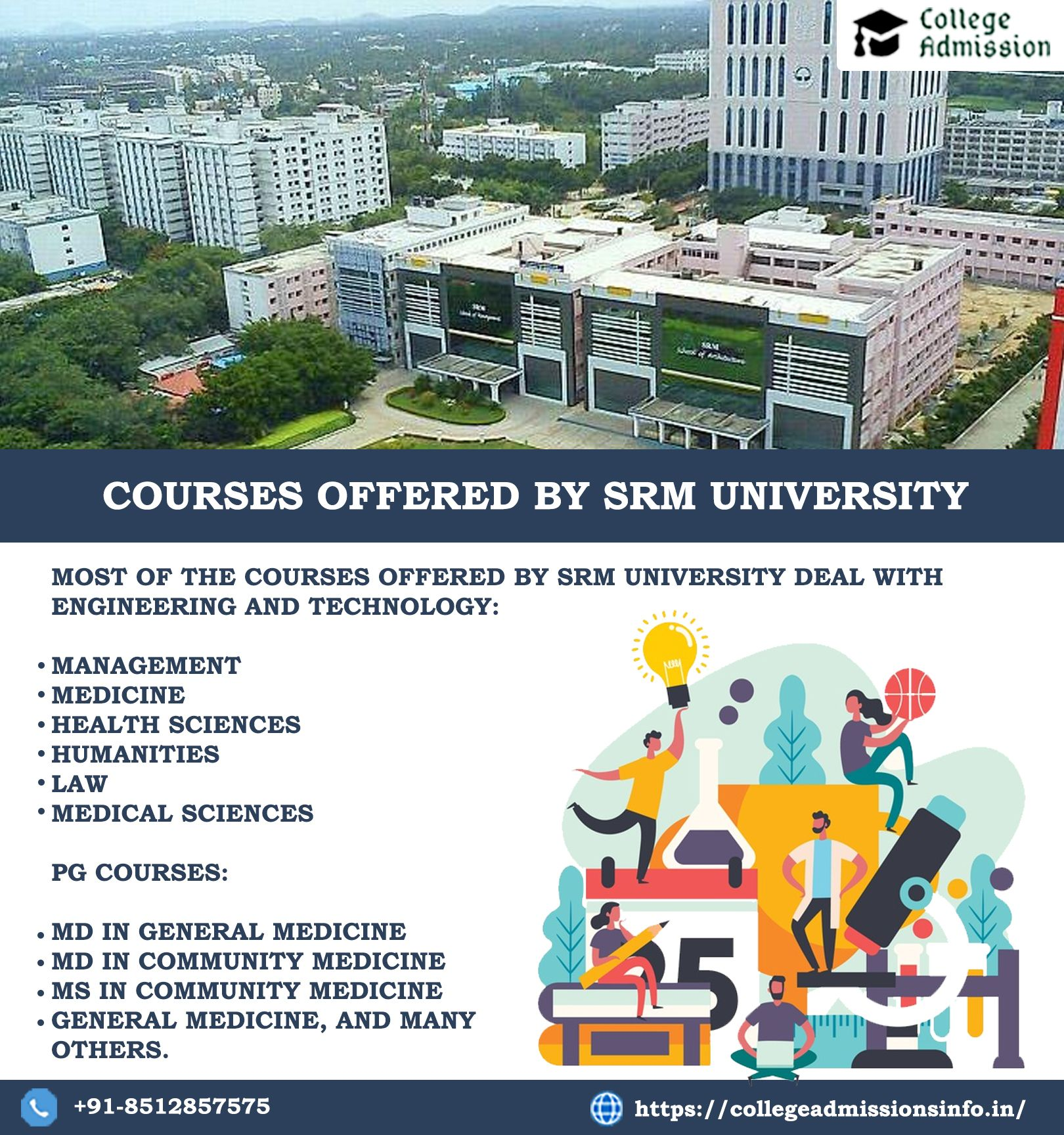 Courses Offered By Srm University