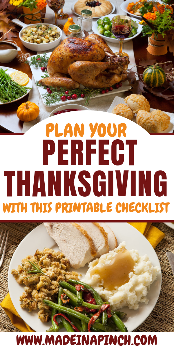 Ditch Hosting Stress With Our Hosting Thanksgiving Checklist Thanksgiving Dinner Cooking Thanksgiving Dinner Thanksgiving Checklist