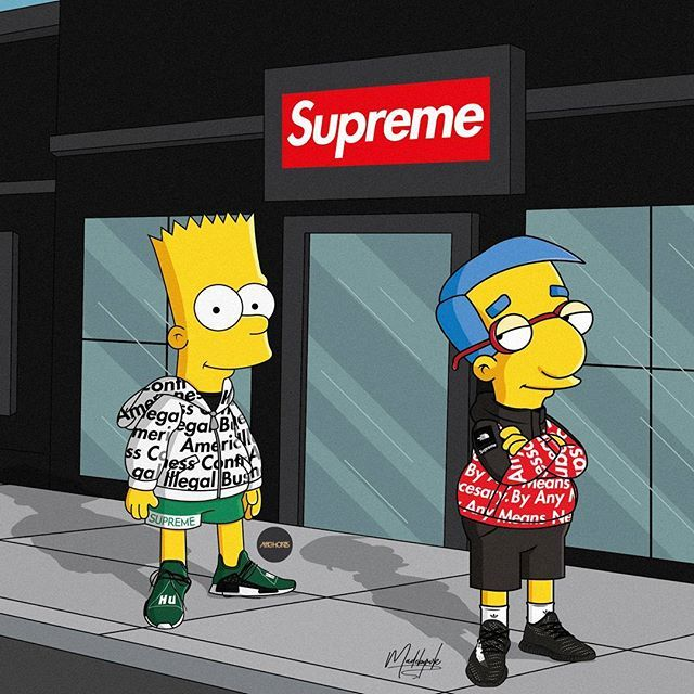 Cartoon Characters Supreme : Like what you see sheed snap pop simpson
