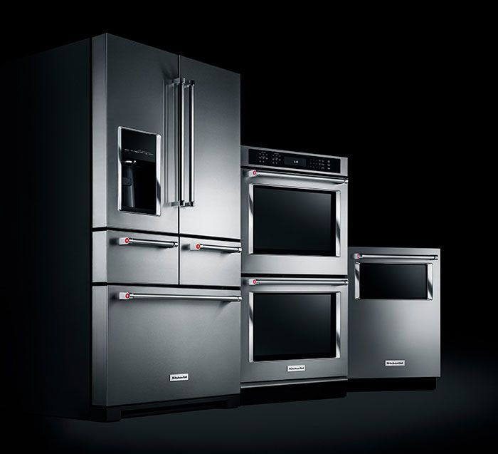Behold, The Completely Reimagined Suite Of KitchenAid® Appliances In Black Stainless Steel