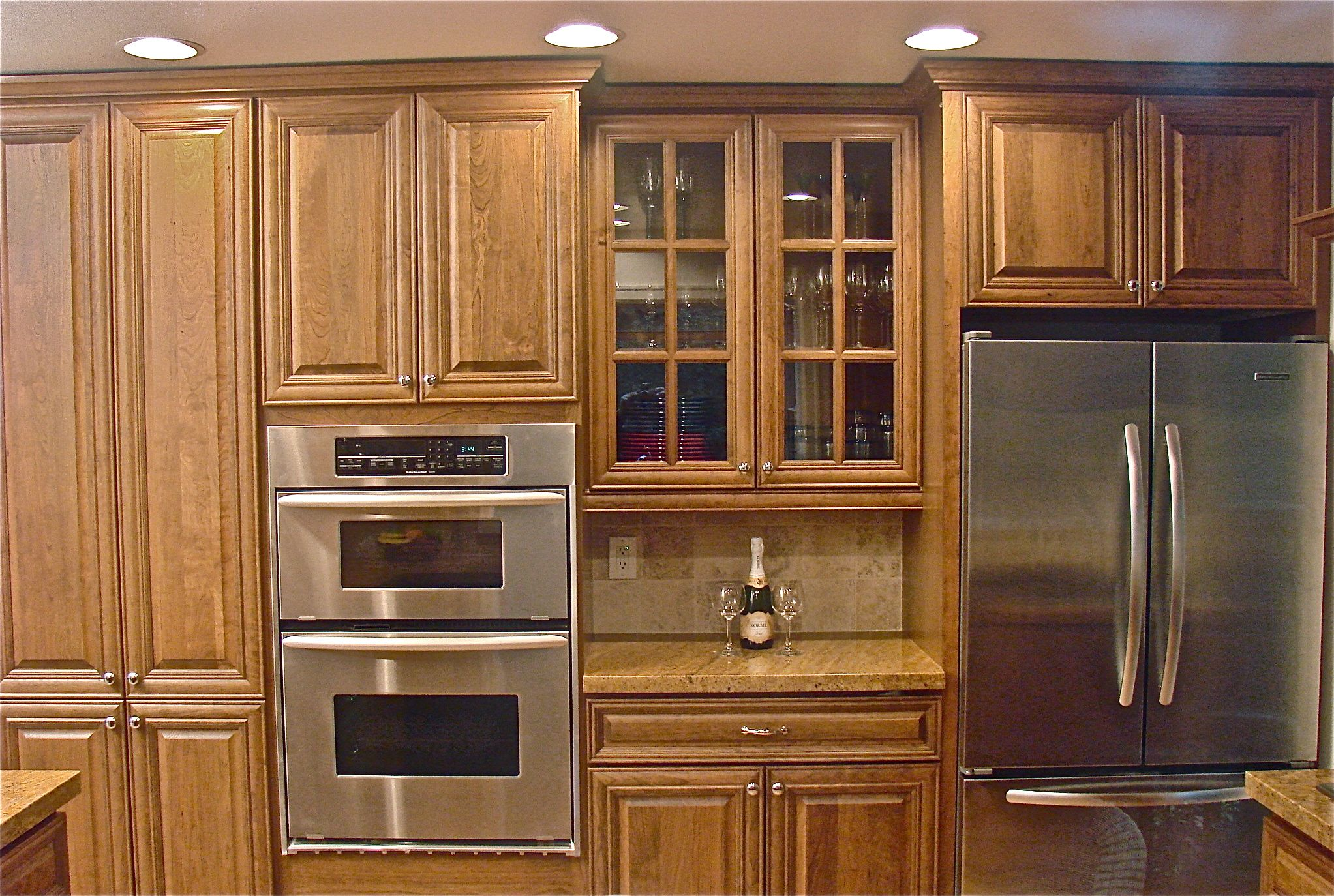 Fill Up Yourfancy Kitchen Cabinets Wall Space For Small Kitchens Interior Design