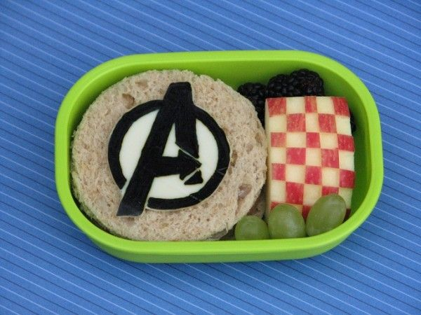 Avengers Bento - The Amazing Nerd Lunches Of Japan