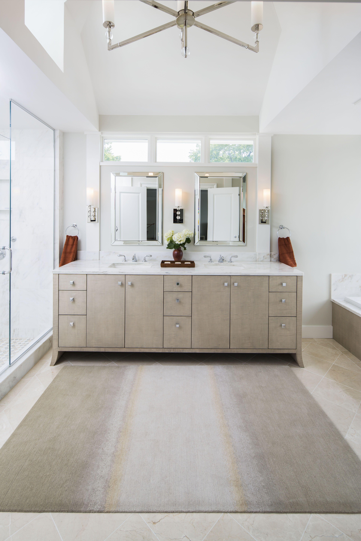 Custom Master Bathroom built by Olson Development LLC