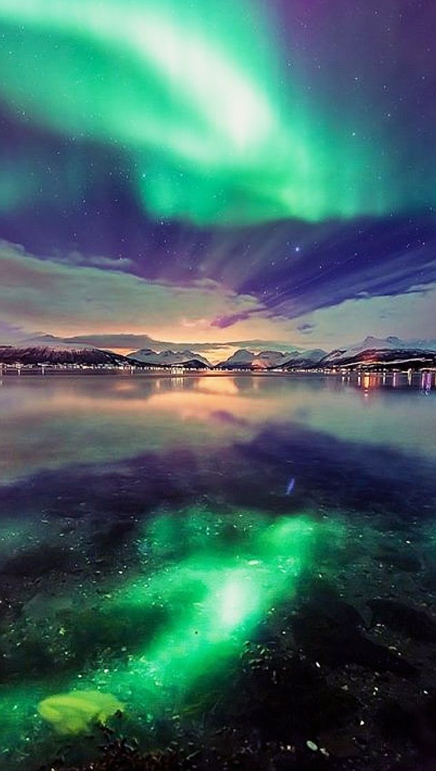 1) See the Northern Lights in Norway <3