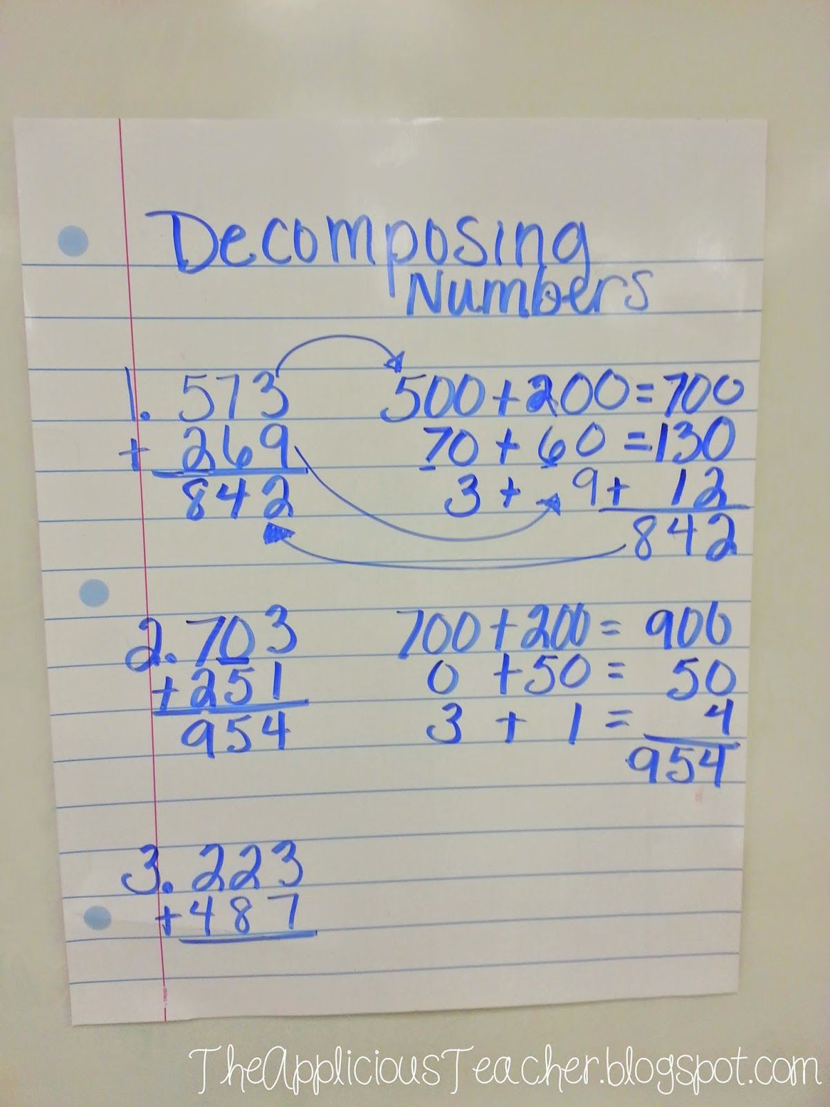 Multi Digit Addition Strategies And Main Idea And Details