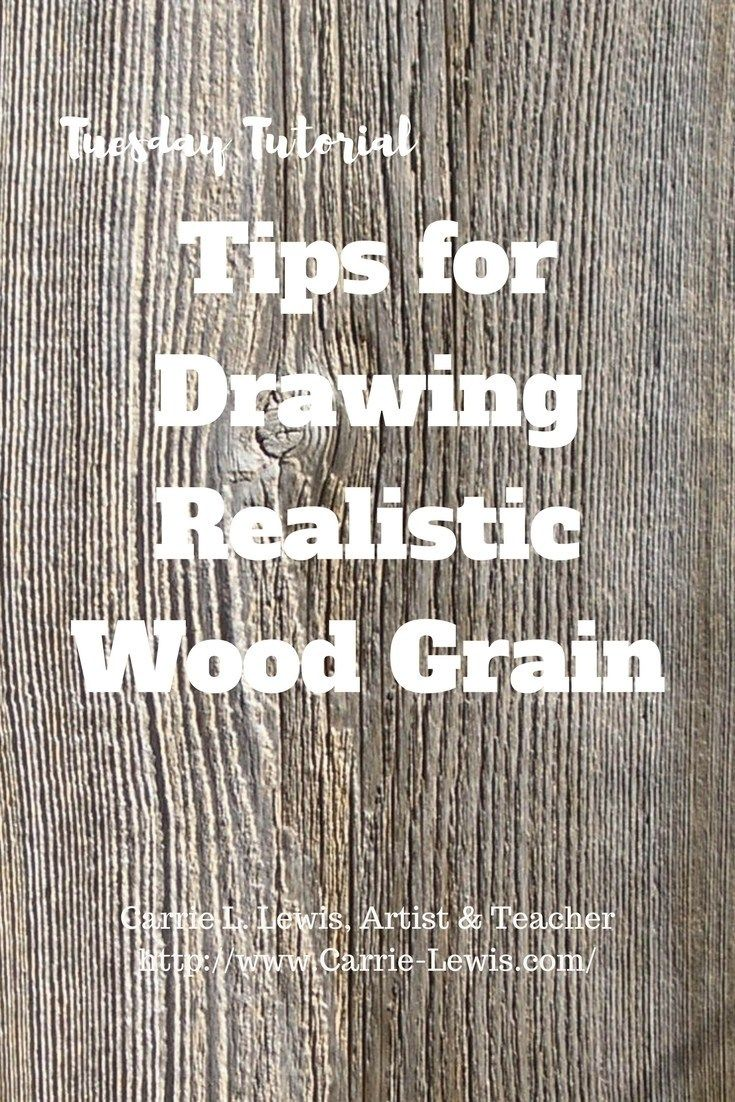 Tips for Drawing Realistic Wood Grain | Pencils | Pencil ...