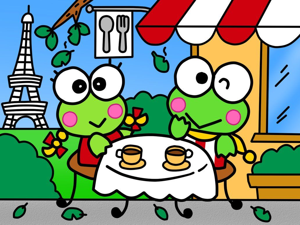 Keroppi and Keroleen (Coloring Book) by Kittykun123.deviantart.com ...
