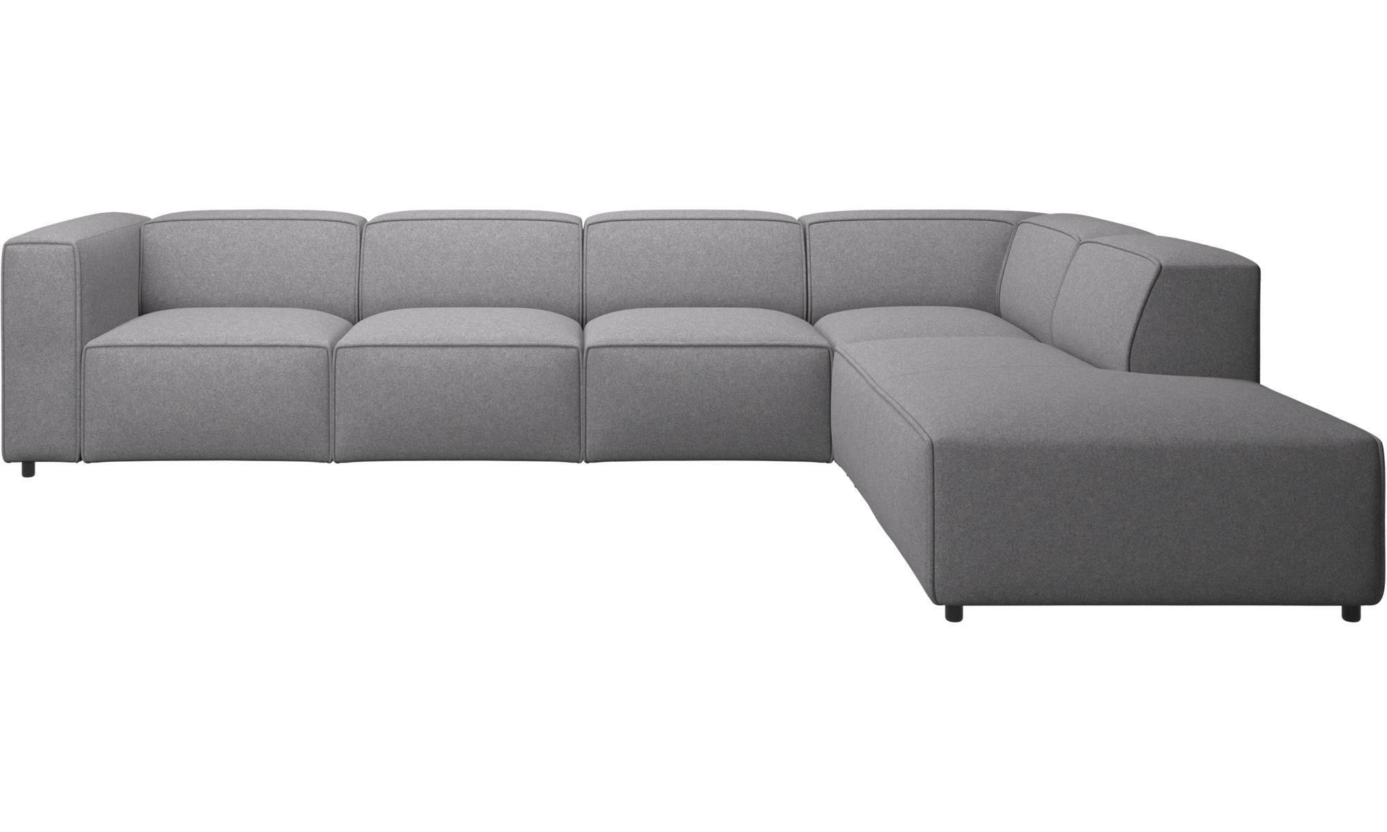 Corner sofas - Carmo corner sofa - Gray - Fabric | MWaz 2.0 ...