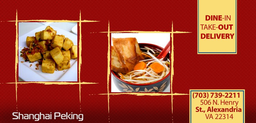 Shanghai Peking Chinese Restaurant Alexandria Va 22314 Menu Online Food Delivery Catering In With Coupon