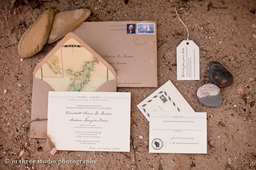 Papyrus Wedding Invitations: Papyrus The Tag Is Cute Travel-inspired Wedding