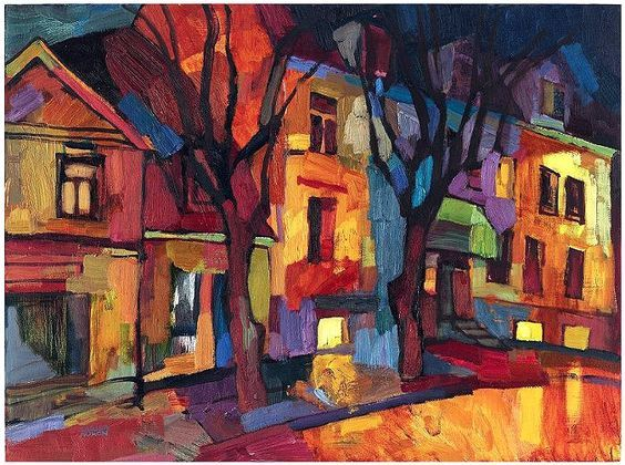 Larisa Aukon  art  Arte 10 Lecciones de arte e Pintura urbana
