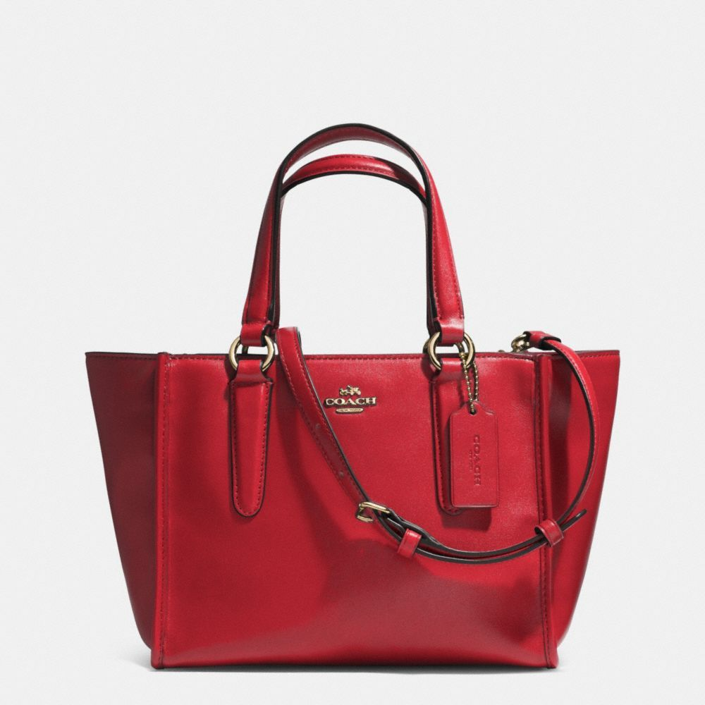 Shoulder Bag for Women On Sale, Vermilion Red, Leather, 2017, one size Coach