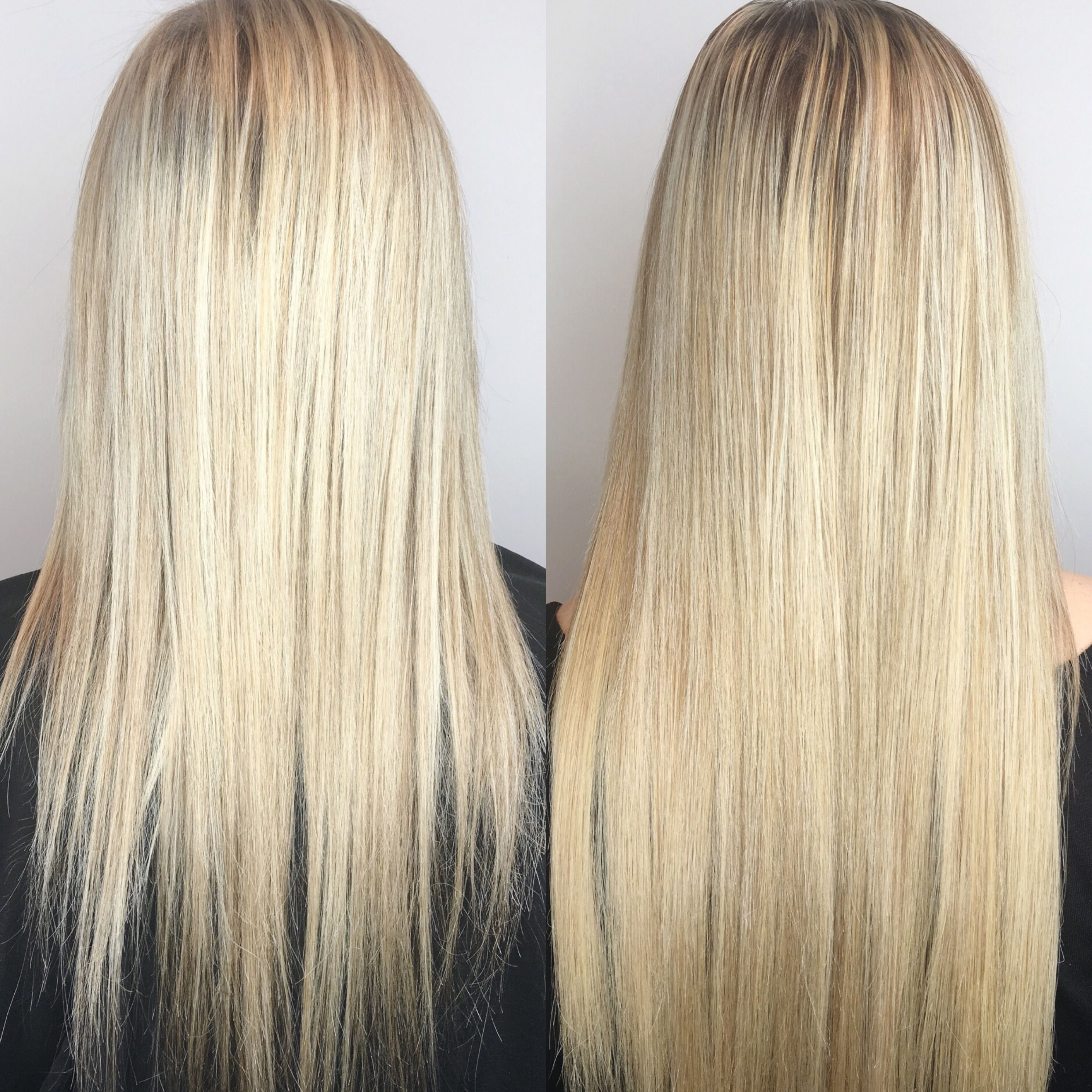 Extensions Vomor Extensions Before And After Extensions Exte Blonde Hair Extensions Before And After Blonde Hair Extensions Hair Extensions Before And After