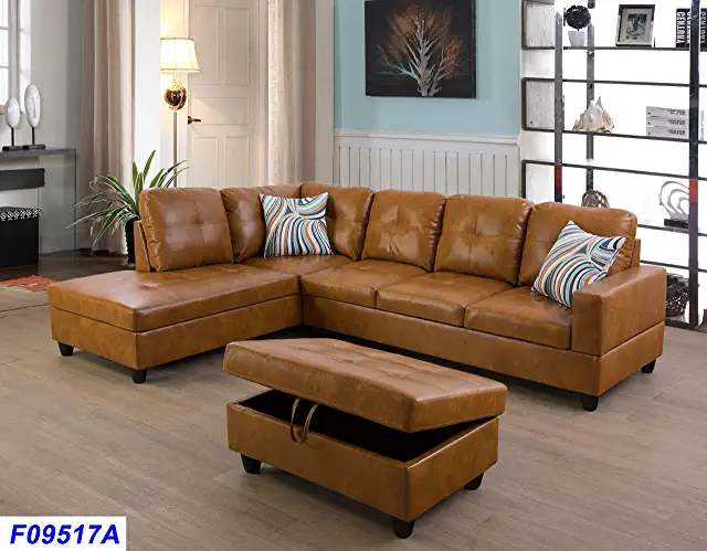 Amazon Com Leather Couch In 2020 Leather Couches Living Room Lifestyle Furniture Contemporary Decor Living Room