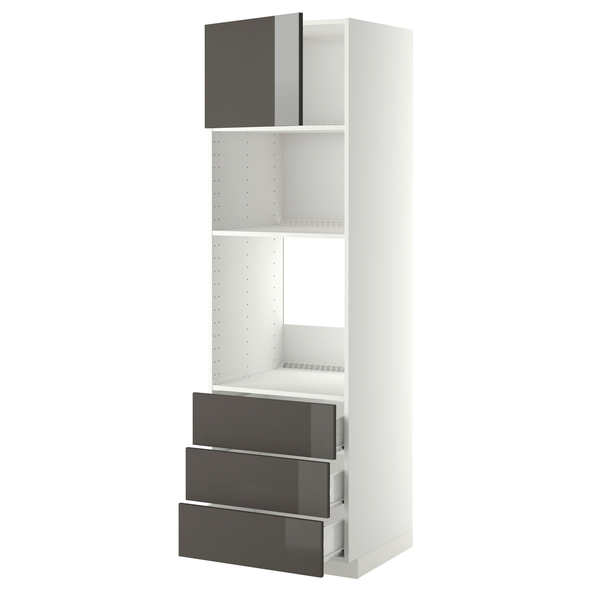 Meuble Cuisine Four Encastrable Trick In 2020 Cabinet Tall Cabinet Storage Kitchen Cabinets