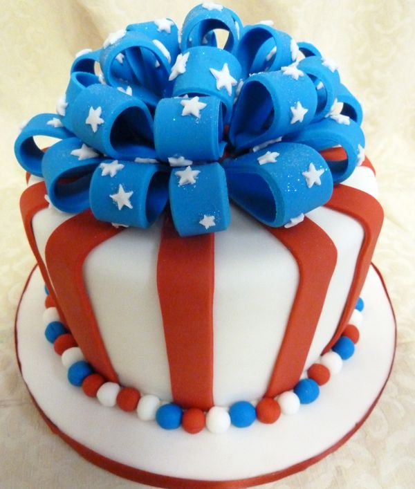 Cute For The 4th Of July With Images Patriotic Cake Holiday