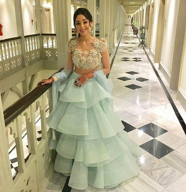 30 Trendy Sangeet Outfit Ideas for the Bride || Wh