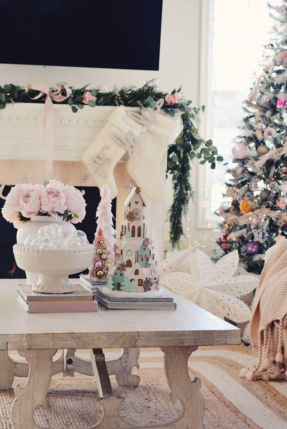 A Pink Christmas Wonderland Pink Christmas Decorations Pink Christmas Pink Christmas Tree Decorations