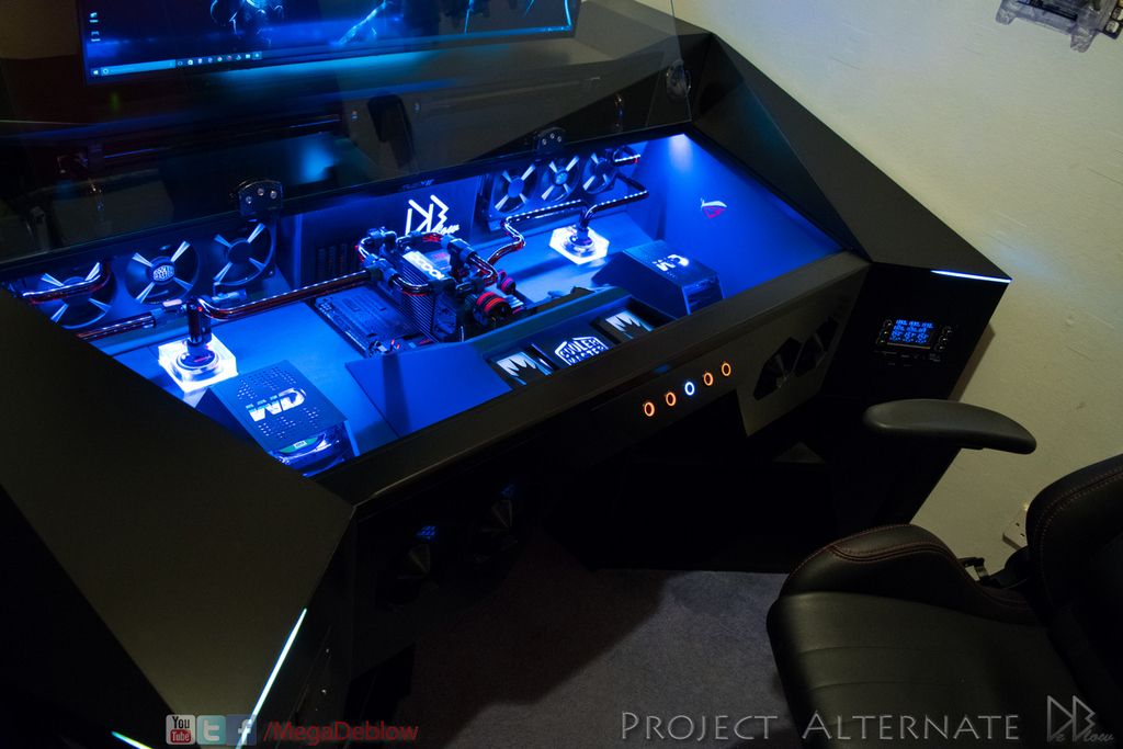 project alternate custom pc desk build page 8