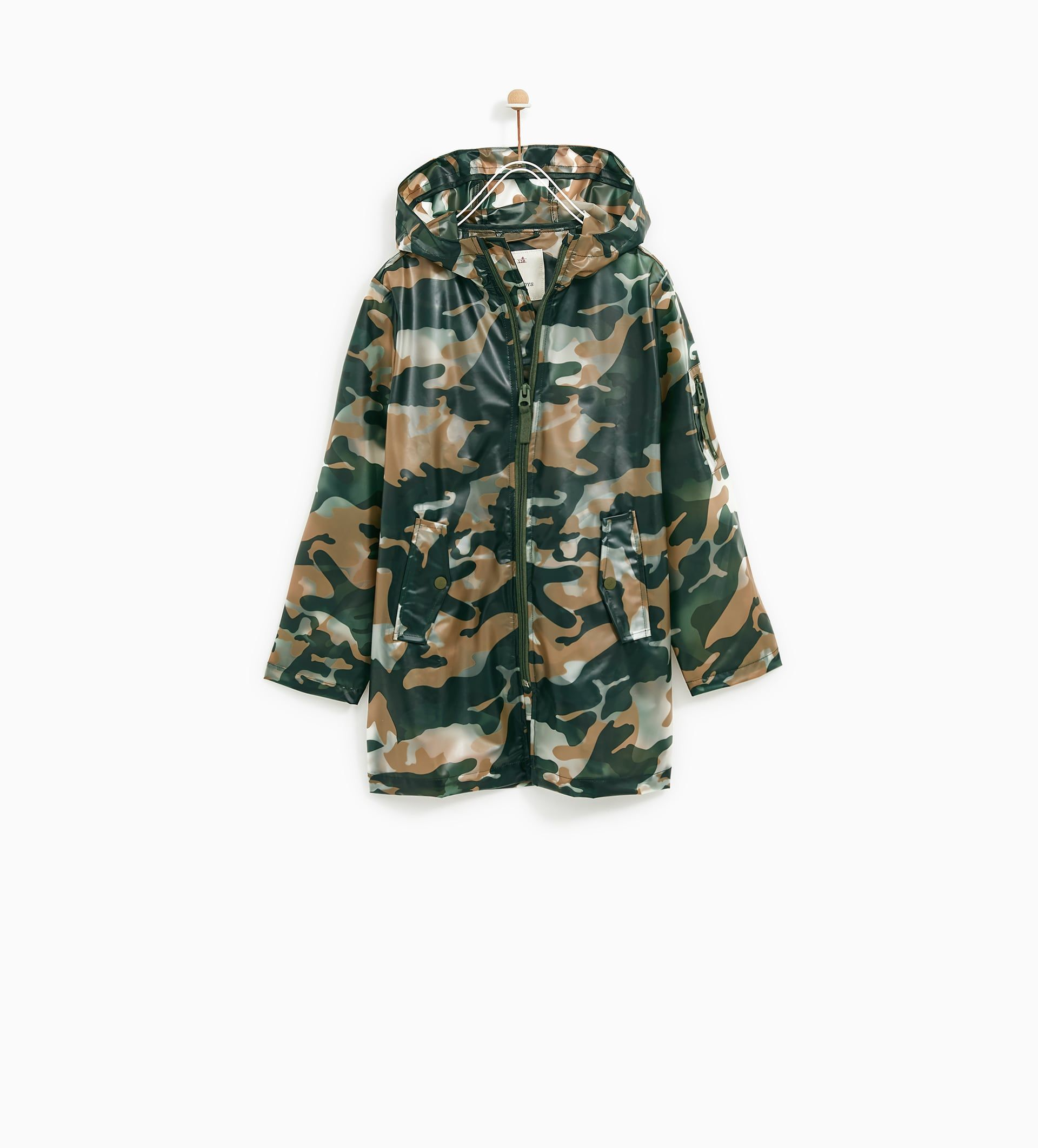 zara camouflage jacke damen