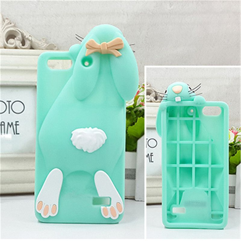 For Huawei Honor 4C Cute 3D Rabbit Monsters University Soft ...