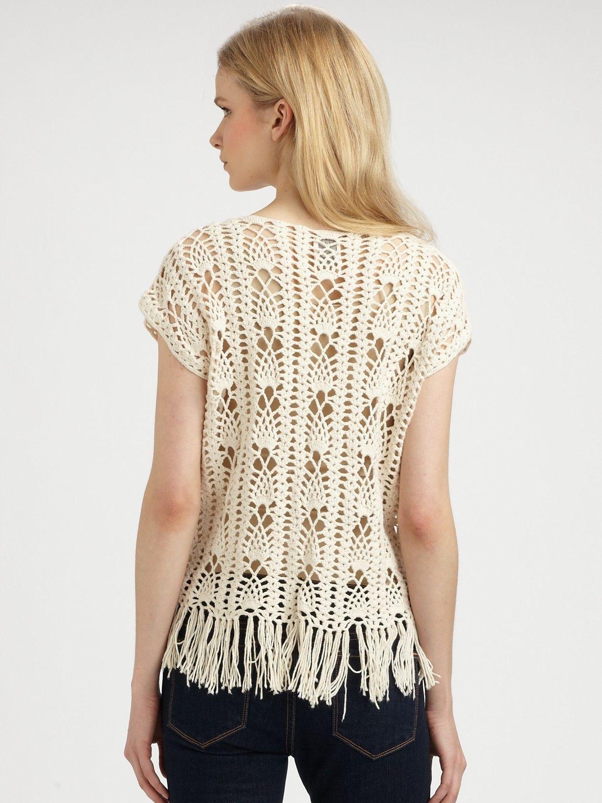 Facebook: Crochetemoda   Tejidos   Pinterest   Croché, Ganchillo y ...