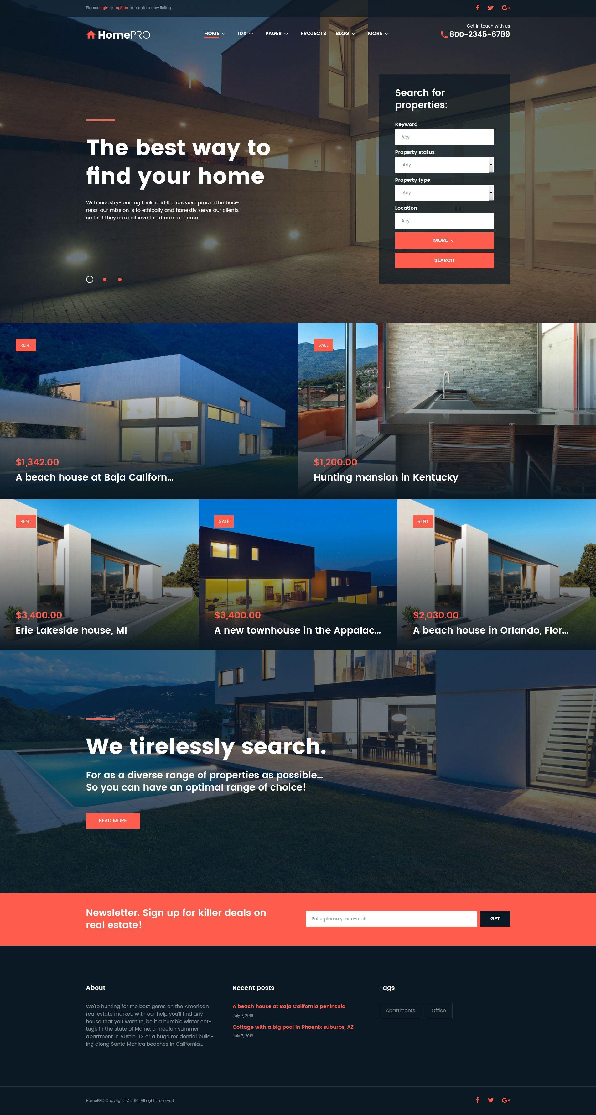 Homepro real estate portal wordpress theme new website templates homepro real estate portal wordpress theme httptemplatemonster wordpress themeshomepro real estate portal wordpress theme 61275ml maxwellsz