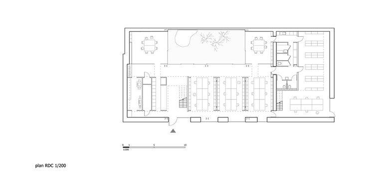 plan atelier du0027architecture - Recherche Google échelle humaine - plan cuisine restaurant normes