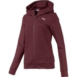 Photo of Puma Women's Hoodie Modern Sport Fz Logo Hoody, Size L In Vineyard Wine, Size L In Vineyard Wine Pum