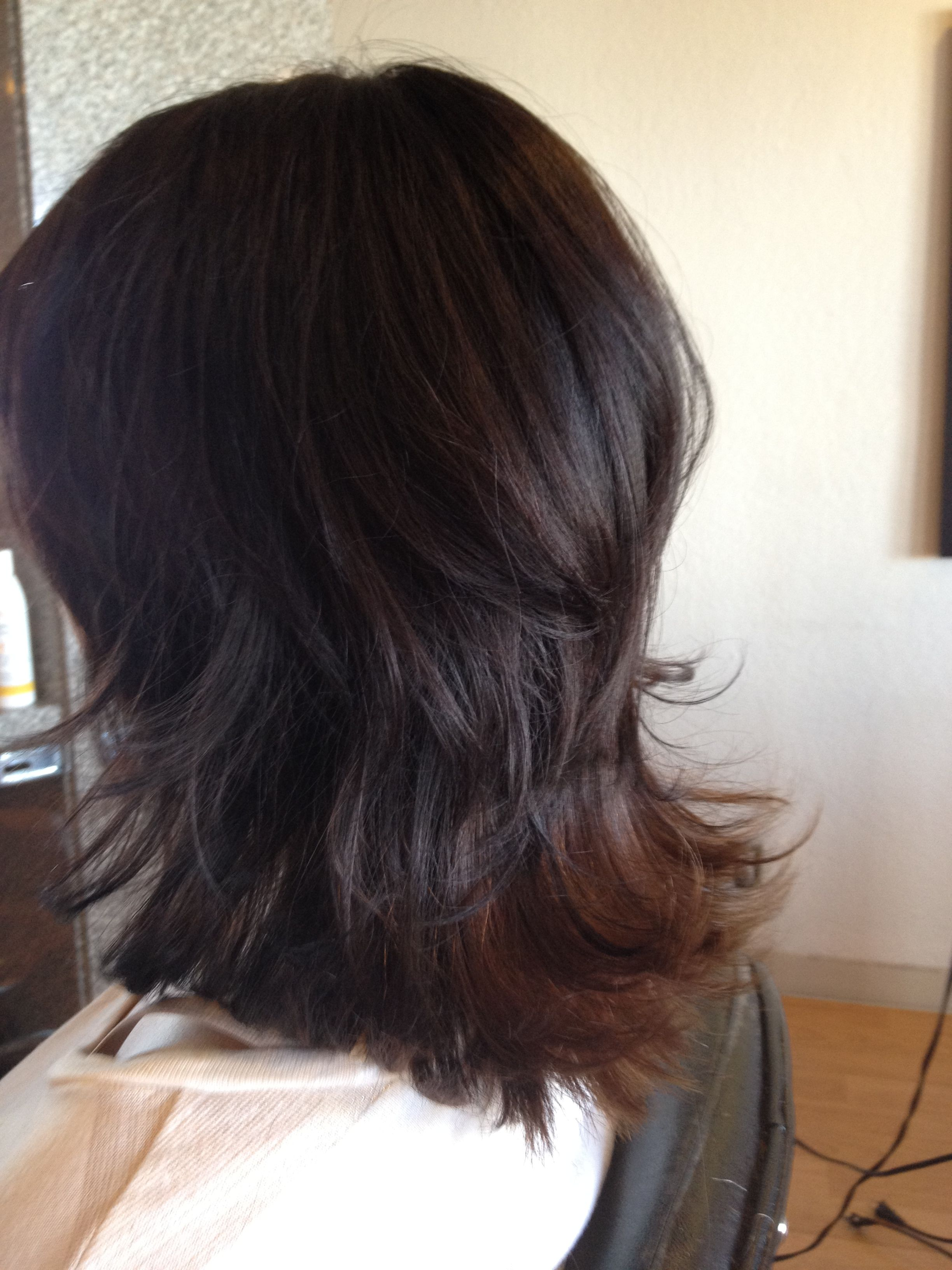 Flippy Layers Haircut Scruples Color Hairstyles