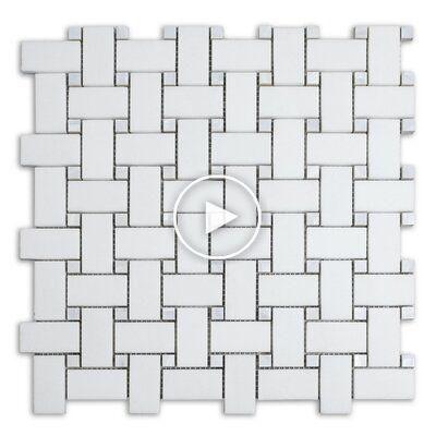 Jpi Collections Nacre Dot 12 X 12 Marbre Carreaux De Mosaique In 2020 Marble Mosaic Tiles Mosaic Tiles Marble Mosaic